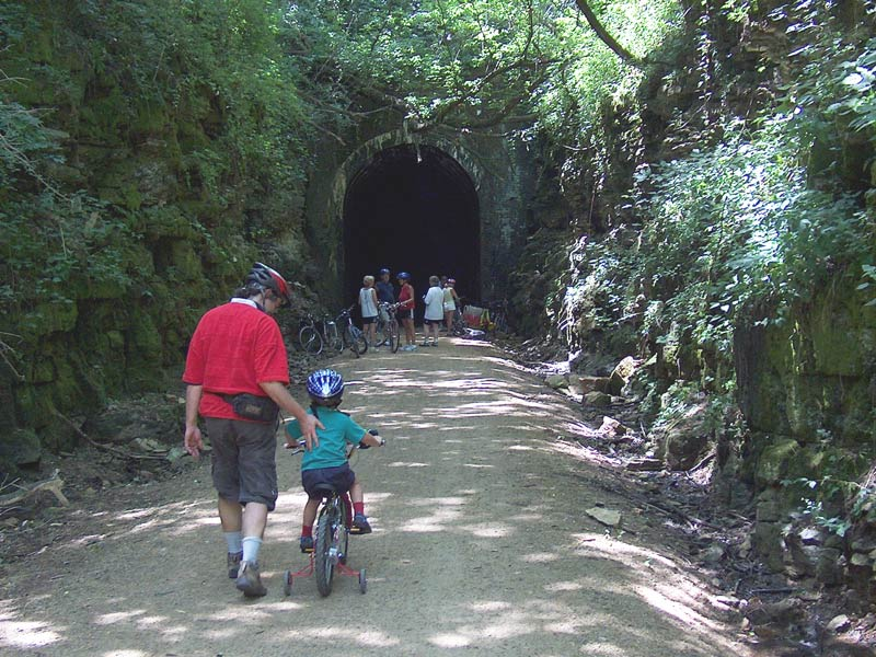 Wisconsin:  Elroy-Sparta State Trail