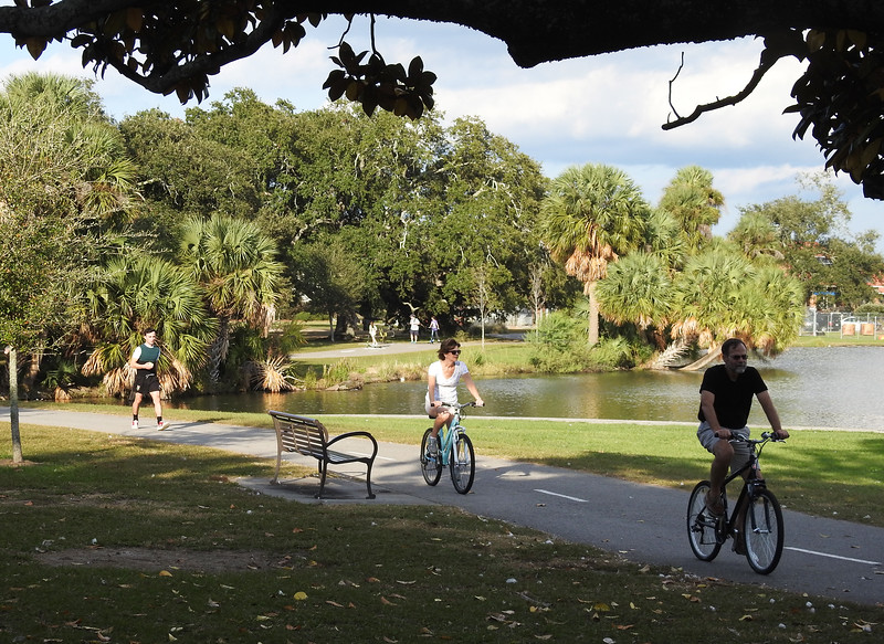 Louisiana: City Park Bicycle Trails, New Orleans