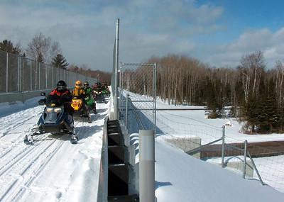 Michigan:  Red Creek Bridge