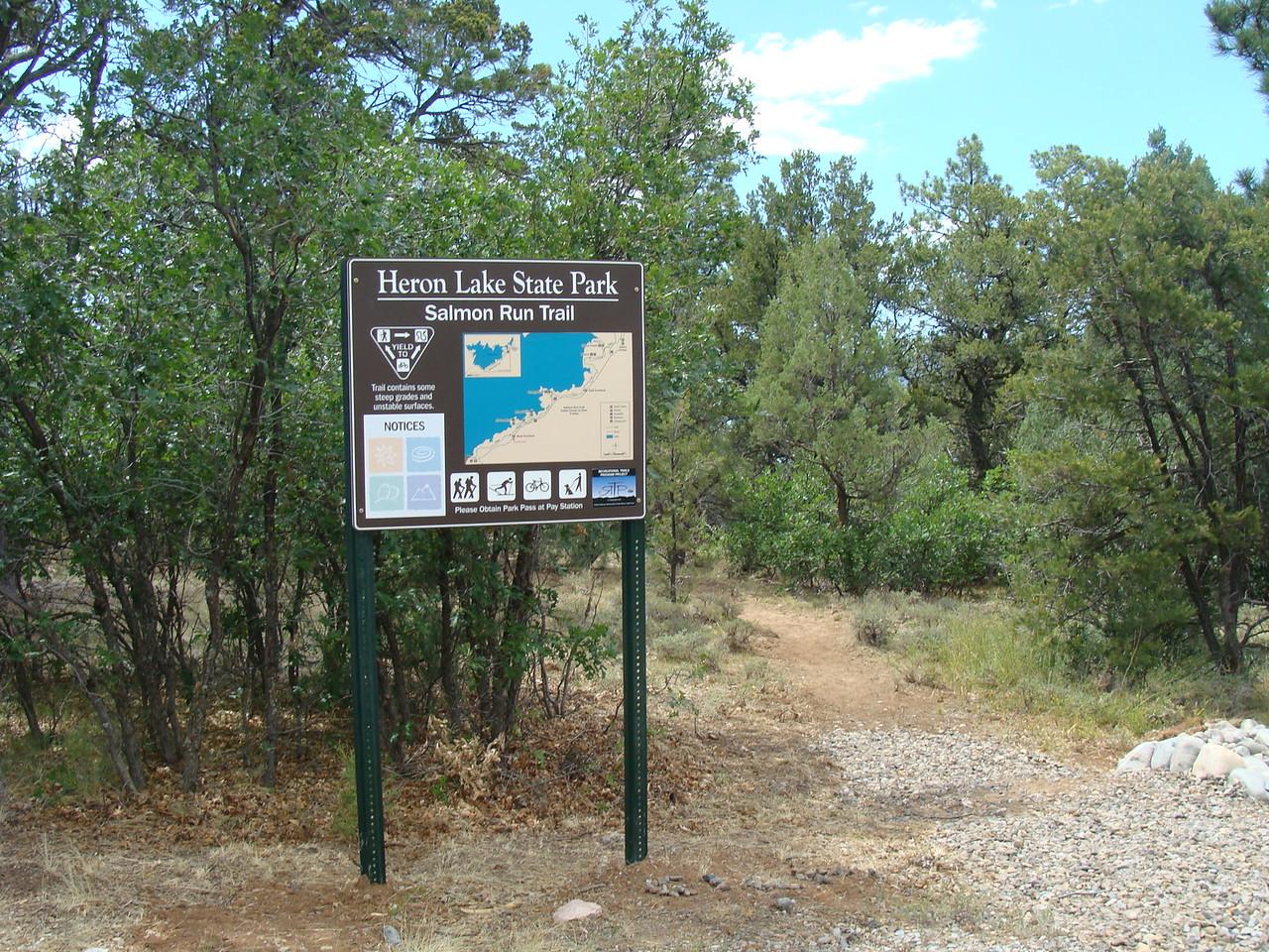 New Mexico: Salmon Run Trail