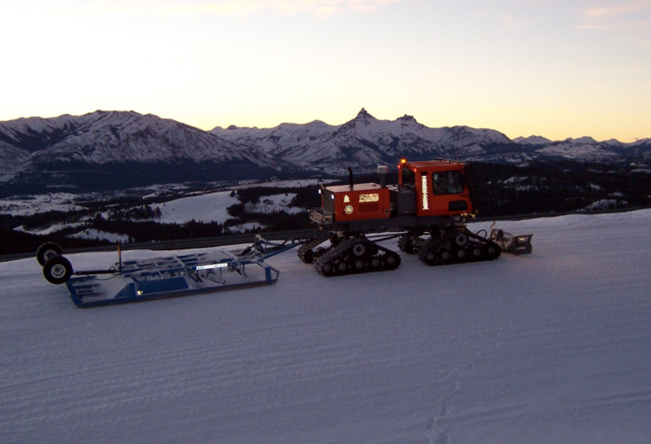 Wyoming: Winter Trail Grooming