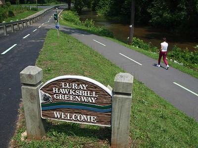 Virginia:  Luray Hawksbill Greenway
