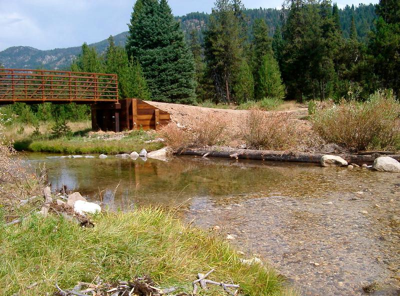 Idaho: New bridge project on the Peace Creek Trail Emmett, ID