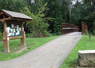Ohio:  Ohio and Erie Canal Trail