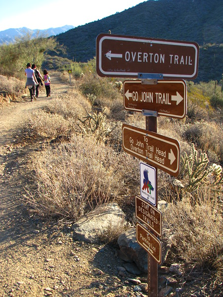 Arizona: Go John Canyon Trail