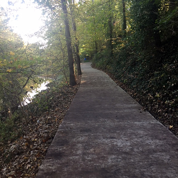 Kentucky: Clear Creek Greenway in Shelby County
