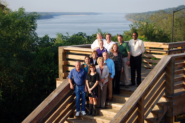 Mississippi:  Natchez Mississippi River Overlook
