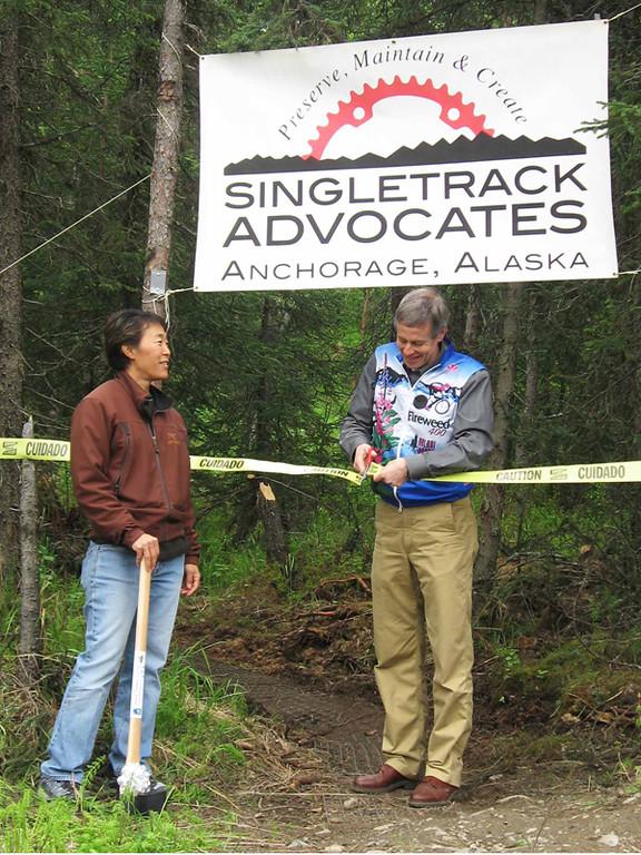 Alaska: Anchorage trail system