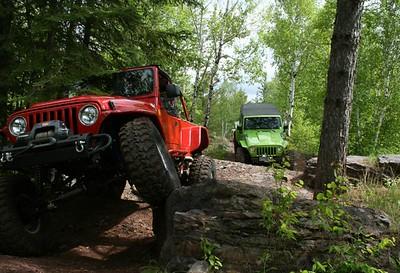 Minnesota:  Iron Range OHV Recreation Area