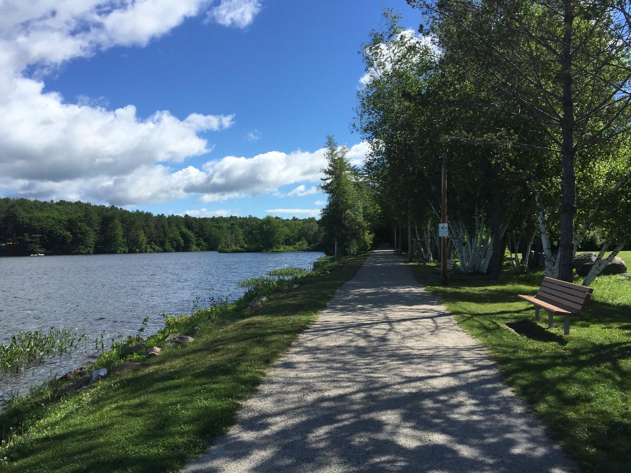 New Hampshire: Cotton Valley Rail Trail