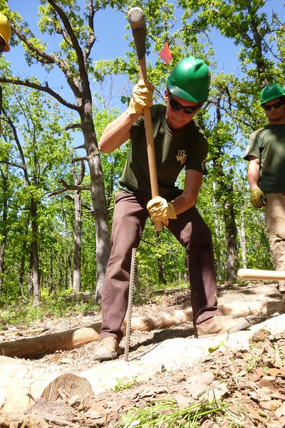 Texas: Conservation Corps at Work