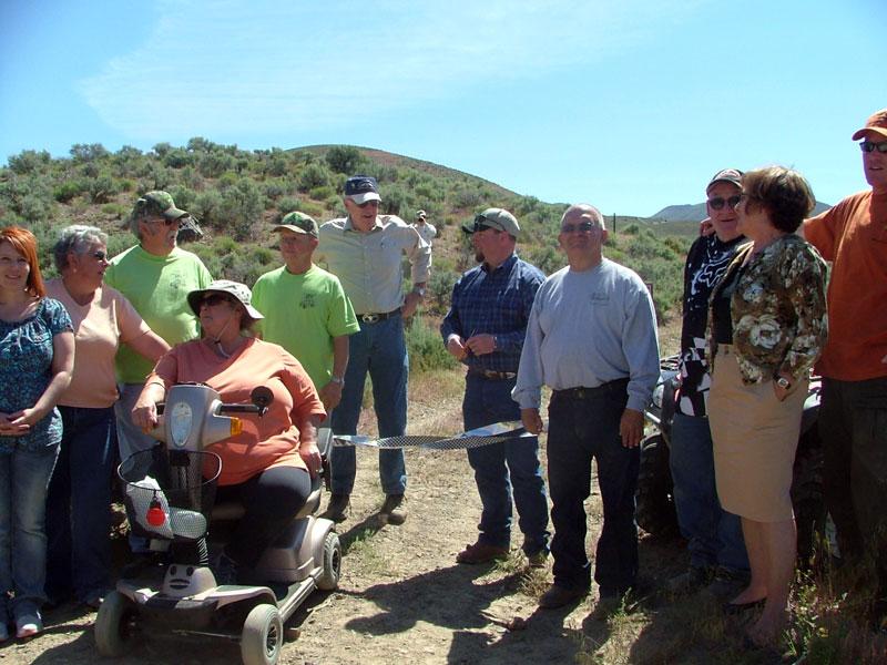 Nevada:  Shoshone Trail OHV System