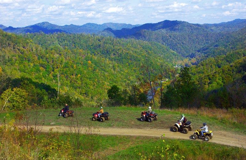 West Virginia:  Hatfield McCoy OHV