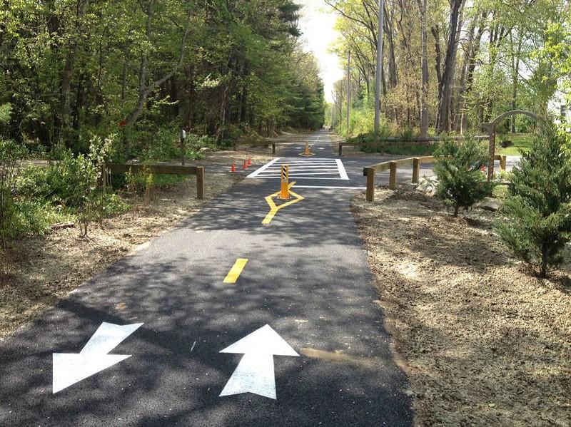 Rhode Island:  Burrillville Rail Trail