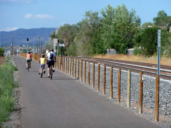 New Mexico:  Rail with Trail project