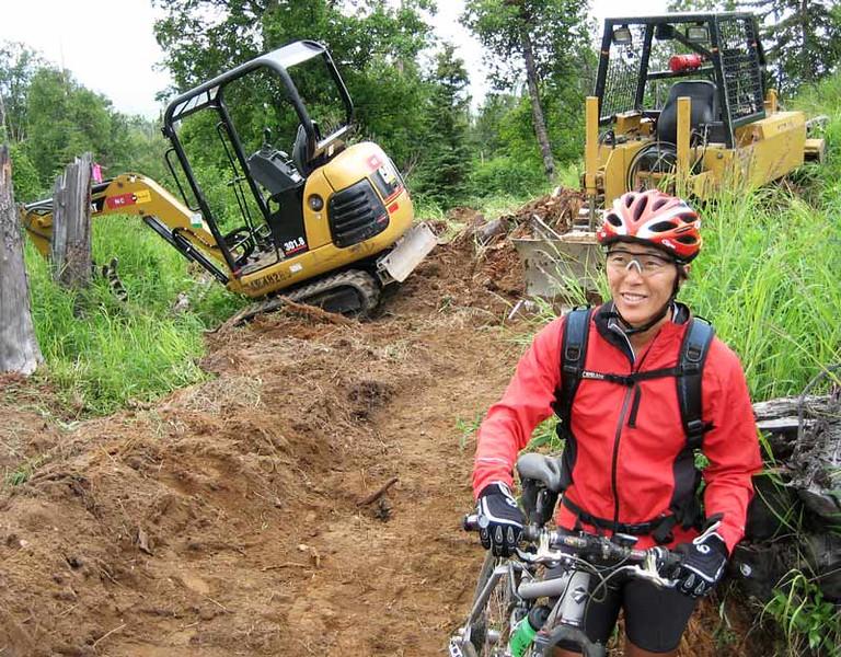 Alaska: Anchorage Hillside Singletrack Trail System