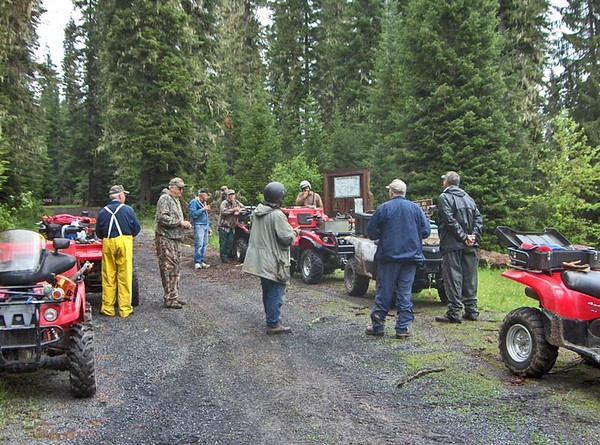 Idaho:  Musselshell Trail System