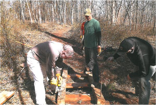 Maryland:  Seneca Bluffs Trail