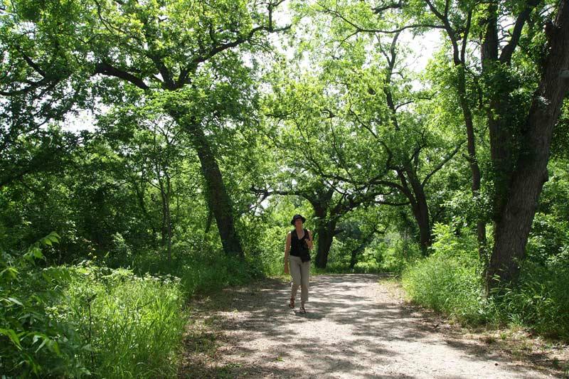 Texas:  Riverside Park Trail