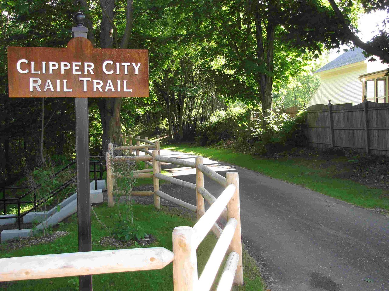 Massachusetts:  Clipper City Rail Trail
