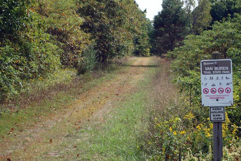 Michigan:  Van Buren Rail Trail