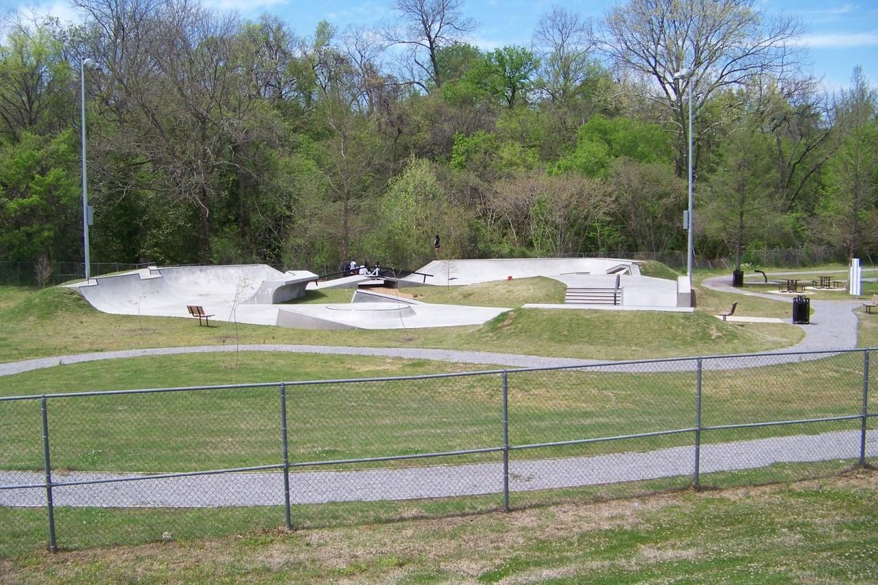 Mississippi:  Vicksburg Skateboarding Park
