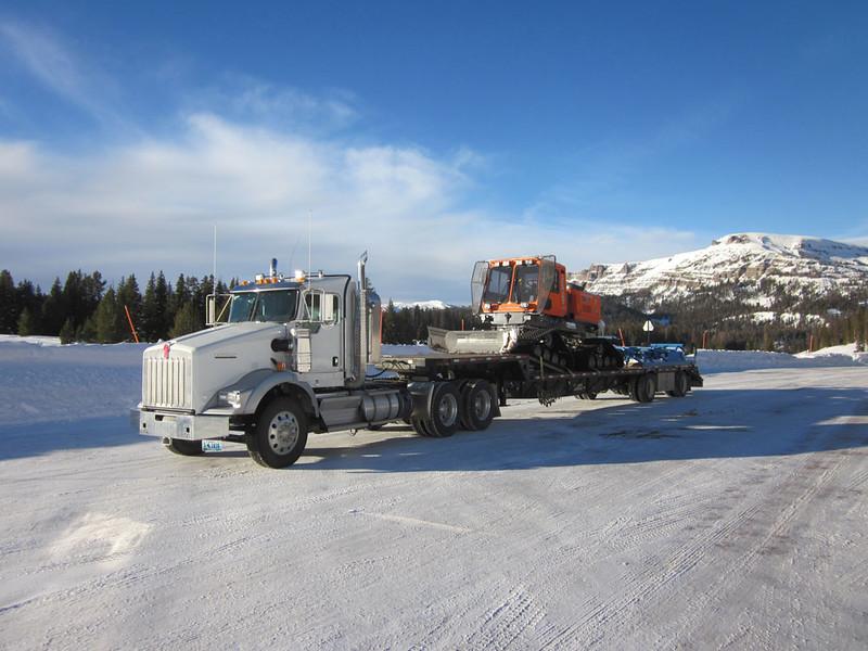 Wyoming:  Snow Groomer