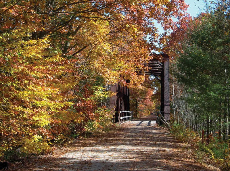 New Hampshire:  Northern Rail Trail