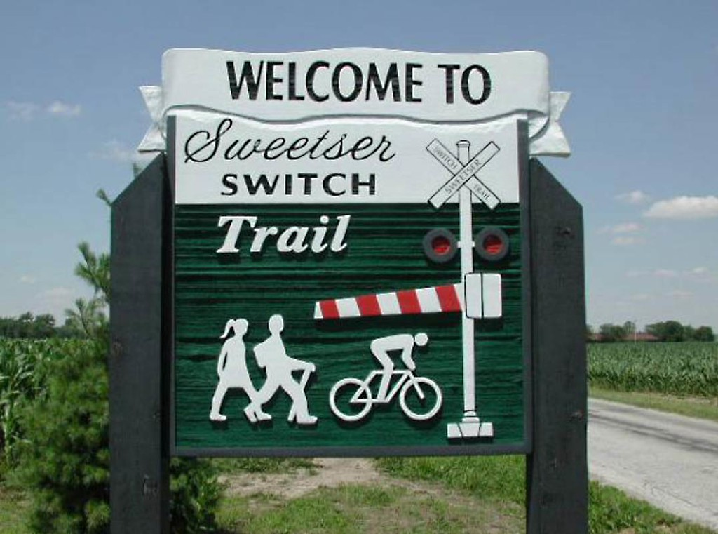 Indiana:  Sweetser Switch Trail