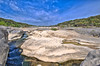 "HDR image of Pedernales Falls.  I used a Nikon D700 and Nikon 14-24mm lens to take the images used in this HDR combination.  For some reason the ""info"" shows the Focal Length to be 160,000mm.  I guess the HDR confused Smugmug...."
