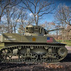 Cantigny Park - Wheaton, Illinois - Photo Taken: December 5, 2017 - M5 Stuart Tank - The U. S. Army used the M5 Stuart during World War II. Its thin armor and small main gun were overmatched against German tanks. Therefore, it was used primarily for reconnaissance and infantry support. The 70th Tank Battalion (Light) supported the 1st Infantry Division's invasions of North Africa (1942) and Sicily (1943) with M5s.