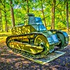 Cantigny Park - Wheaton, Illinois - Photo Taken: September 20, 2017 - M1917 Light Tank - The M1917 was one of the U. S. Army's first tanks. Based on the design of the French FT-17 Renault, the M1917 became a model for future U. S. tanks. An infantry support tank, it could cross a seven-foot wide trench and climb a three-foot wall. Although it was not used in combat during World War I, the military trained with the M1917 into the 1930s.