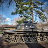Cantigny Park - Wheaton, Illinois - Photo Taken: December 5, 2017 - M60 Patton Tank - The M60 was the main battle tank for the U. S. Army from 1960-1980. As the standard tank for all armored units, it replaced the older light, medium and heavy tanks. Its improved features included better firepower, stronger armor and an increased cruising range. This tank's markings represent the 1st Battalion, 63rd Armor Regiment, 1st Infantry Division.