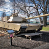 Cantigny Park - Wheaton, Illinois - Photo Taken: December 5, 2017 - M1 Abrams Tank - The M1 series is the U. S. Army's longest serving tank. It entered service in 1980 as the main battle tank. The M1 is a mobile front line tank equipped with advanced composite armor and a large main gun. This tank's markings represent Captain John Long of B Company, 3rd Battalion, 37th Armor Regiment, 1st Infantry Division, who earned the Silver Star for action during Desert Storm.