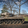 Cantigny Park - Wheaton, Illinois - Photo Taken: December 5, 2017 - T26E4 Super Pershing Tank - The T26E4 was never deployed in combat. Developed in early 1945, it was designed to defeat the most heavily armored German tanks. However, only one completed model arrived in Europe before the war ended. This is the only remaining T26E4 of the 25 that were produced. The markings represent what would have been on the tank while in transit to the European theater.
