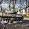 Cantigny Park - Wheaton, Illinois - Photo Taken: December 5, 2017 - M41A3 Walker Bulldog Tank - The M41 tank series was designed at the beginning of the Cold War. Their enhanced features included faster top speeds and improved maneuverability. Used primarily for reconnaissance and security missions, the tanks saw limited combat with the U. S. Army. They were exported to over twenty other countries and used by the South Vietnamese Army during the Vietnam War.