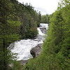 """Triple Falls. There is a lot of water in the river due to over 5"""" of rain earlier this week."""