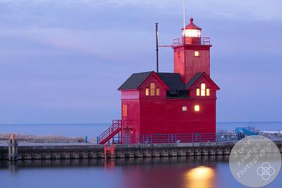 Morning at Big Red