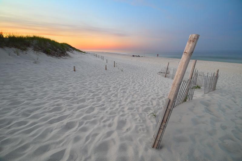Sunset on the East Coast Beach, Island Beach State Park