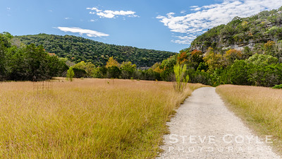 A hike along the East Trail in Lost Maples State Park.