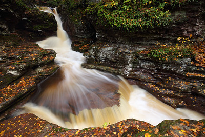Adam's Falls, Ricketts Glen State Park