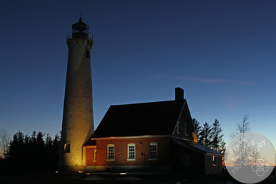 Tawas Point Lighthouse at Sunset #3