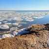 Tawas Point S.P. Beach with Ice on the Lake #3