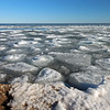 Tawas Point S.P. Beach with Ice on the Lake #4