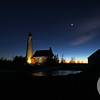 Tawas Point Lighthouse at Sunset #1