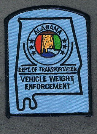 ALABAMA VEHICLE WEIGHT ENFORCEMENT