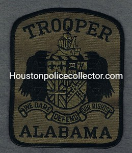ALABAMA TROOPER GREEN