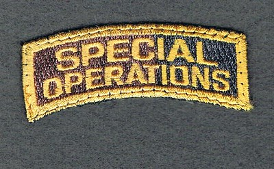 SPECIAL OPERATIONS USED TAB