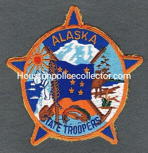 ALASKA STATE TROOPERS OLD USED