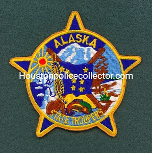 AK-6 STATE TROOPERS HAT PATCH